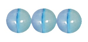 Ombre Druk Smooth Round Beads #4158 6MM Sea Blue (1,200 Pieces)